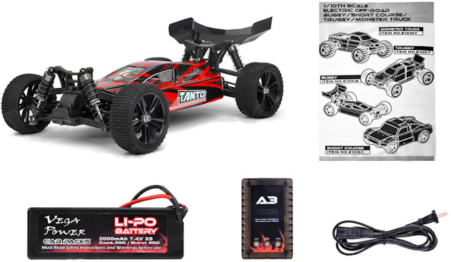 Багги Himoto Tanto E10XBL Brushless RTR 4WD 1/10