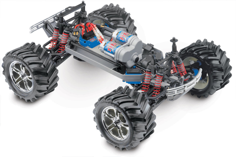 Монстр-трак Traxxas E-Maxx TRA3903 4WD 1/10 RTR + NEW Fast Charge