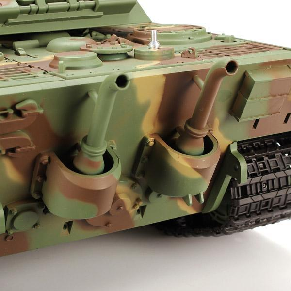 Танк Heng Long German King Tiger 3888-1 в масштабе 1/16, 40 MHz