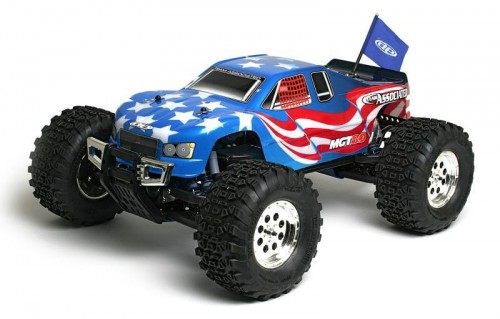 Монстр 1/8 Associated MGT8.0 RTR 2.4 GHz FLAG BODY, фото 1